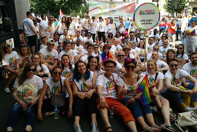 The CIPD at London Pride
