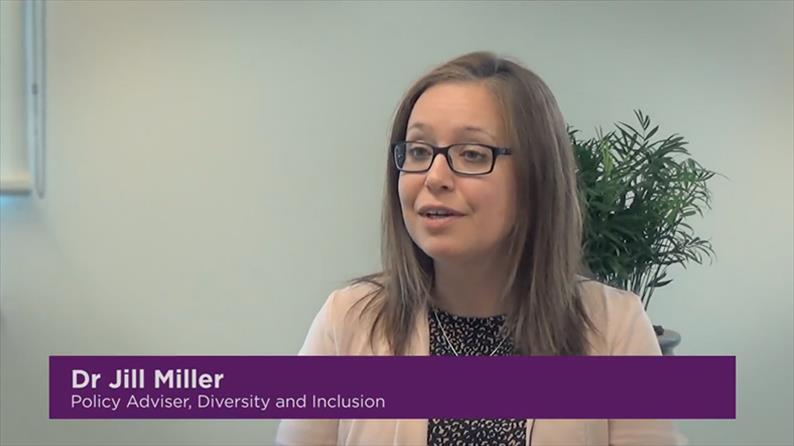 Jill Miller, Policy Adviser, Diversity and Inclusion
