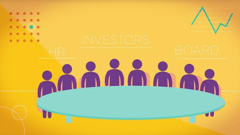 How investors use people data - video image