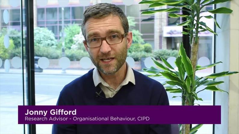 Jonny Gifford, Senior Advisor for Organisational Behaviour, CIPD