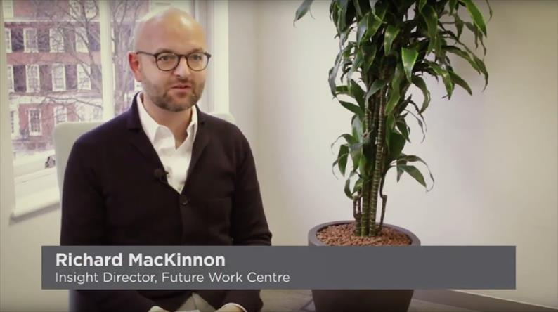 Richard MacKinnon, Insight Director at Future Work Centre