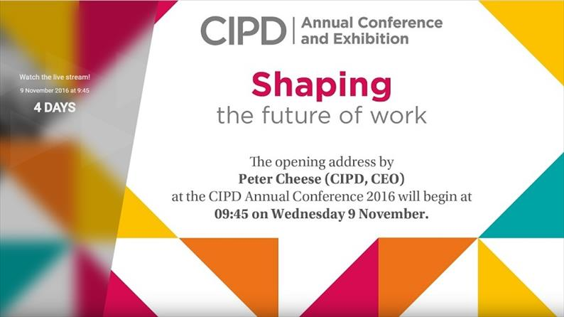 Shaping the future of work - opening address
